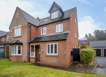 Thumbnail 6 bed detached house for sale in Oak View Rise, Harlow Wood, Mansfield