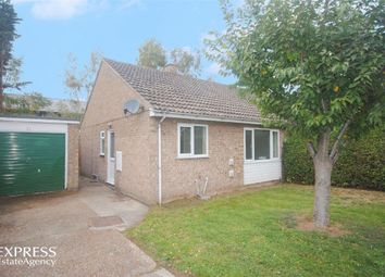 Thumbnail 2 bed semi-detached bungalow for sale in Blackbird Road, Beck Row, Bury St Edmunds, Suffolk