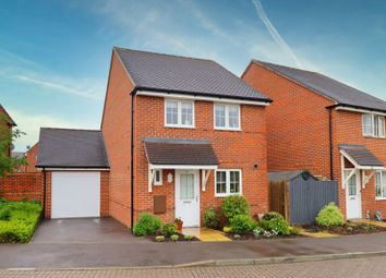 Thumbnail 3 bed detached house for sale in Mill Pond Crescent, Chichester