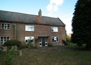 Thumbnail 2 bed semi-detached house for sale in Manor House East, The Street, Billingford, Norfolk
