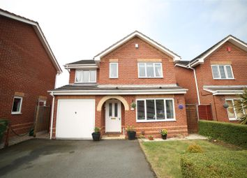 Thumbnail 4 bed detached house for sale in Hedingham Road, Leegomery, Telford