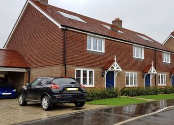 Thumbnail 3 bed semi-detached house for sale in Tindall Crescent, Burgess Hill