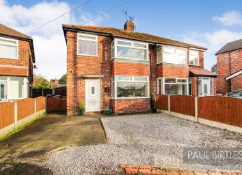 Thumbnail 3 bed semi-detached house for sale in Aldermere Crescent, Flixton, Trafford