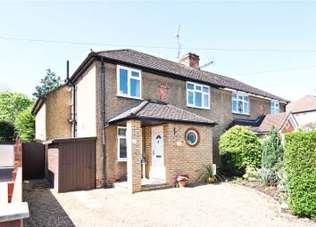 Thumbnail 3 bed semi-detached house for sale in Garden Close, Addlestone, Surrey