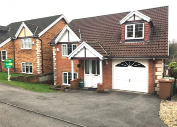 Thumbnail 4 bed detached house for sale in Bramblewood Court, Pengam, Blackwood
