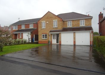 Thumbnail 5 bed detached house to rent in Lindbergh Close, Worksop