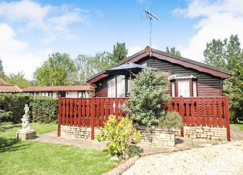 Thumbnail 3 bed mobile/park home for sale in High Street, Standlake, Witney