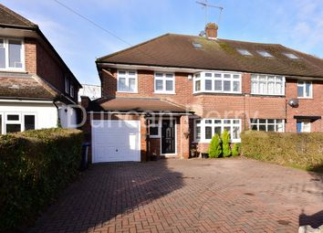 Thumbnail 5 bed semi-detached house for sale in Bluebridge Road, Brookmans Park, Herts
