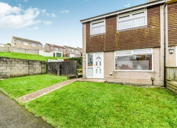 Thumbnail 3 bed end terrace house for sale in Peters Park Close, St Budeaux, Plymouth