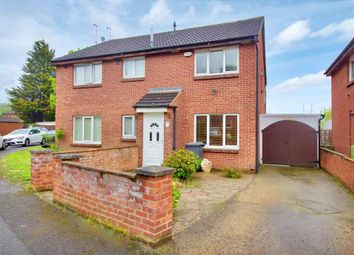 Thumbnail 2 bed semi-detached house for sale in Marsh Close, Leicester