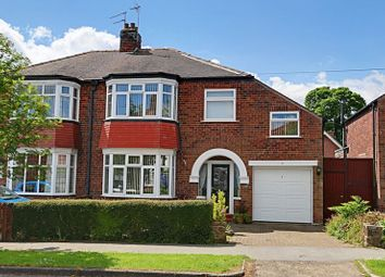 Thumbnail 4 bedroom semi-detached house for sale in Derrymore Road, Willerby, Hull