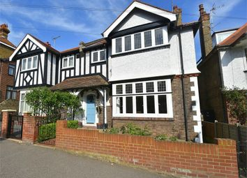 Thumbnail 4 bed semi-detached house for sale in Queens Road, Broadstairs, Kent
