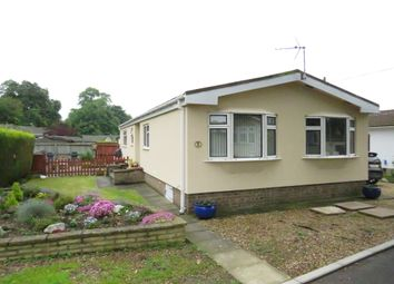 Thumbnail 2 bed mobile/park home for sale in Ranksborough Hall Park, Langham, Oakham