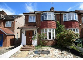 Thumbnail 4 bed semi-detached house to rent in Claremont Road, London