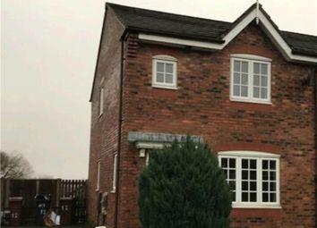 Thumbnail 3 bed semi-detached house for sale in Wagstaffe Close, Fernhurst Farm, Blackburn