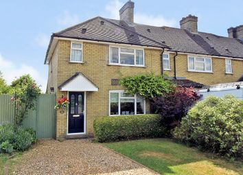 Thumbnail 3 bedroom end terrace house for sale in Rampton Road, Cottenham, Cambridge