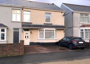 Thumbnail 4 bed semi-detached house for sale in Gorwydd Road, Gowerton, Swansea