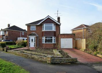 Thumbnail 3 bed detached house for sale in Brixham Avenue, Swindon