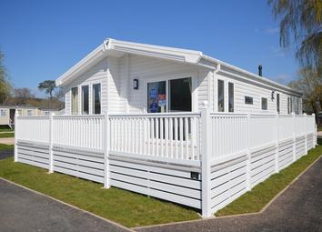 Thumbnail 2 bed lodge for sale in Warren Road, Dawlish Warren, Dawlish