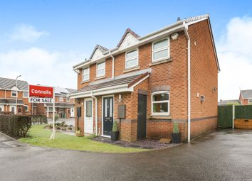 Thumbnail 2 bed semi-detached house for sale in Heather Close, Yale Estate Wednesfield, Wolverhampton