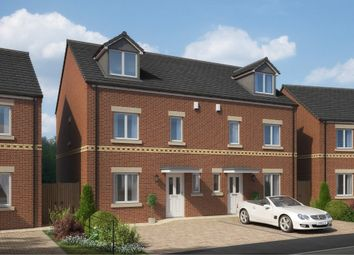 Thumbnail 4 bed semi-detached house for sale in Bedford Sidings, South Church Road, Bishop Auckland, County Durham