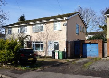 Thumbnail 3 bed semi-detached house for sale in Ivens Way, Maidstone