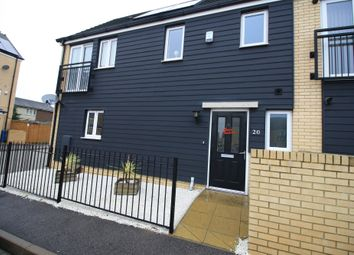Thumbnail 3 bedroom semi-detached house for sale in Fox Field Close, Grays