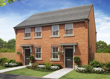 "Thumbnail 2 bed semi-detached house for sale in ""Wilford"" at Rush Lane, Market Drayton"