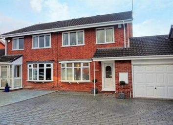 Thumbnail 3 bed semi-detached house for sale in Rudyard Close, Wolverhampton