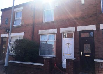 Thumbnail 2 bedroom terraced house for sale in Longford Road, Stockport