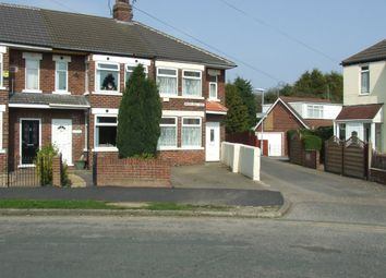 Thumbnail 3 bed semi-detached house to rent in Brooklands Road, Hull