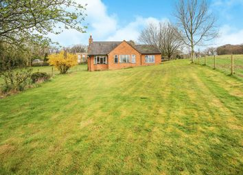 Thumbnail 3 bed detached bungalow for sale in Cheddleton Heath Road, Cheddleton, Staffordshire