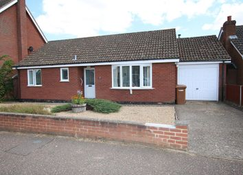 Thumbnail 2 bed detached bungalow for sale in Springfields, Attleborough