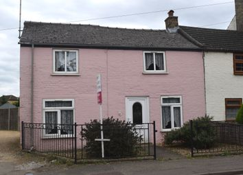 Thumbnail 2 bed cottage for sale in Eyebury Road, Eye, Peterborough