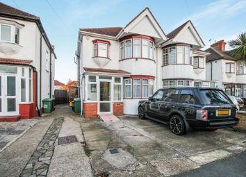 Thumbnail 4 bed semi-detached house to rent in Larkfield Avenue, Kenton, Harrow