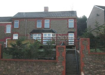 Thumbnail 3 bed end terrace house for sale in Pleasant View, Crumlin, Newport.