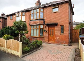 Thumbnail 3 bed semi-detached house for sale in Thackeray Grove, Droylsden, Manchester