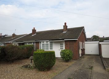 Thumbnail 2 bed semi-detached bungalow for sale in Worcester Close, Newport Pagnell