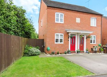Thumbnail 2 bedroom semi-detached house for sale in Abbey Road, Rocester, Uttoxeter