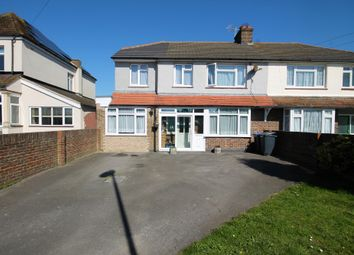 Thumbnail 5 bed semi-detached house for sale in Sompting Road, Lancing