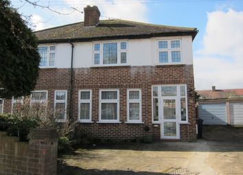Thumbnail 3 bed semi-detached house for sale in Anthony Road, Greenford