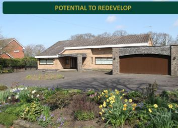 Thumbnail 3 bed bungalow for sale in The Fairway, Oadby, Leicester