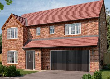 "Thumbnail 4 bed detached house for sale in ""The Westbury"" at Bowbridge Lane, New Balderton, Newark"