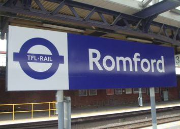 Thumbnail 1 bed flat to rent in Frazer Close, Romford Essex
