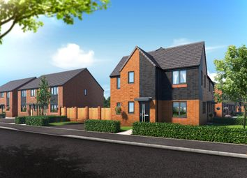 Thumbnail 3 bedroom mews house for sale in Riverbank View, The Sinderby, Charlestown, Salford