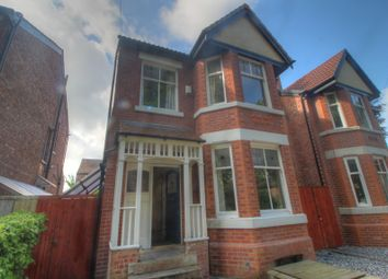 Thumbnail 5 bed detached house for sale in Burford Drive, Whalley Range, Manchester