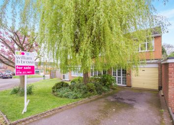 Thumbnail 4 bed semi-detached house for sale in Waveney Rise, Oadby, Leicester