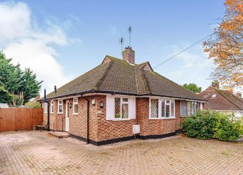 Thumbnail 2 bed bungalow for sale in Whitehall Crescent, Chessington, Surrey, .