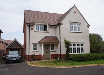 Thumbnail 4 bed detached house for sale in Monmouth Castle Drive, Newport