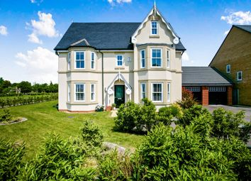 Thumbnail 6 bed detached house for sale in Trinity Way, Papworth Everard, Cambridge